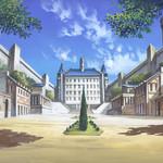 魔法学院中庭