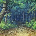 ブリーリアの森の入り口