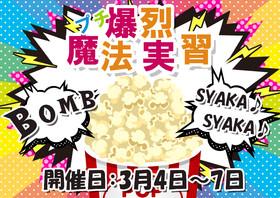 3月4日~7日プチ爆裂魔法実習!!@クロニクルS